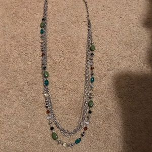 Multiple strand necklace, premier Designs.