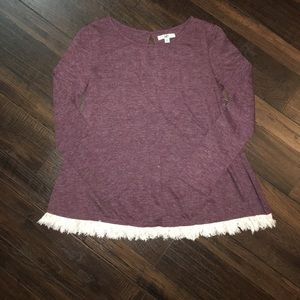 Boutique maroon sweater