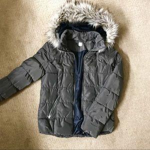 NWOT H&M winter fur jacket