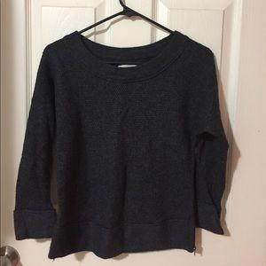 Loft Grey 3/4 length sweater