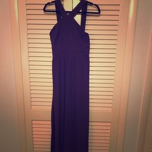 Air of Romance Dusty Purple Maxi Dress—Lulu's