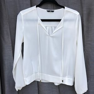 H&M Blouse with Front Ties S