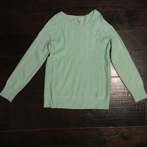 Mint J. Crew Sweater
