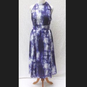 New Eshakti Tie Dye Fit Flare Dress 20W