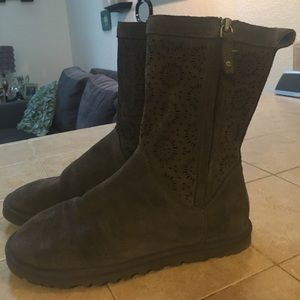 Grey UGG Boots size 7