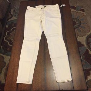 NEW GAP Legging White Jeans