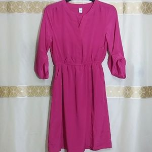 Pink long sleeve Old Navy Dress