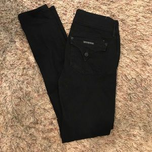 Hudson black denim size 27