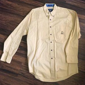 Ralph Lauren light yellow button down
