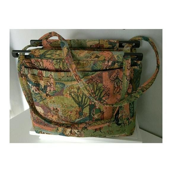 toby weston bags 1hr sale vintage tapestry bag poshmark rh poshmark com