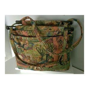 👜 Vintage Toby Weston of California Tapestry Bag