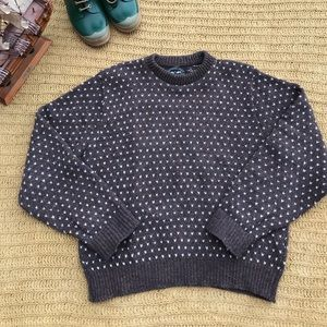 Northern Isles Brown Sweater