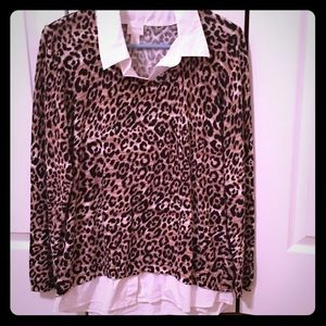 Chico's Leopard Sweater