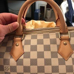 Louis Vuitton speedy 30 Bandolier
