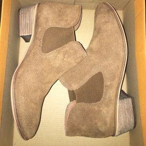 [BP] Brown Ankle Booties