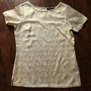 Gold Blouse from The Limited sz Small