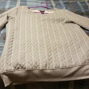 Mark by Avon gray long sleeve sweatshirt XL
