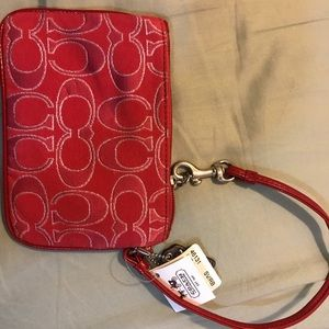 Coach wristlet never used with tags