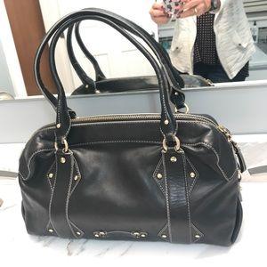 Authentic Cole Haan leather handbag