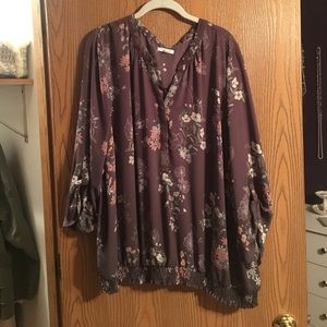 Maurices 4x perfect blouse