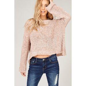 Coming Soon! MALIA Velvet Yarn/Chenille Sweater