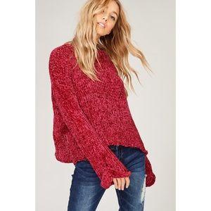 Coming soon!! MALIA Velvet Yarn/Chenille Sweater