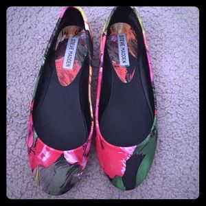 Steve Madden colorful flats