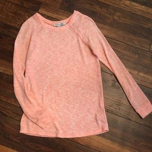 Peach Forever 21 Sweater