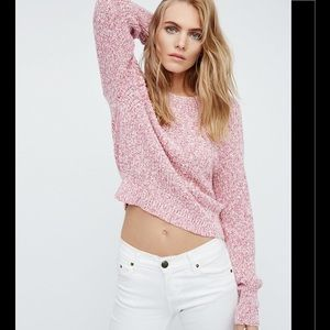 New Free People Electric City Pullover Sweater