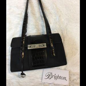 Black Brighton Shoulder Bag