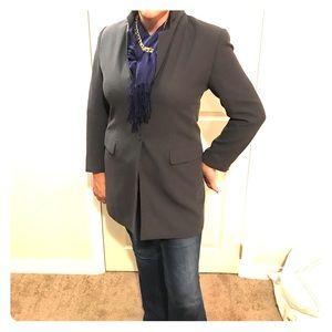 Worthington size 12 blazer charcoal gray