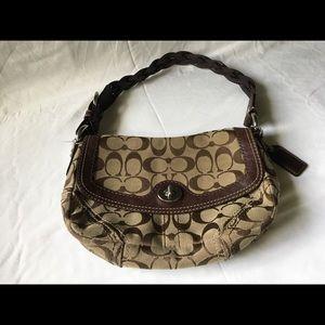 COACH Signature Purse Shoulder Bag 11013