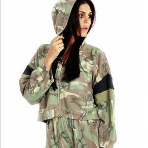 Wildfox camo hoodie