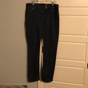 Dark Wash Matchstick J. Crew Jeans
