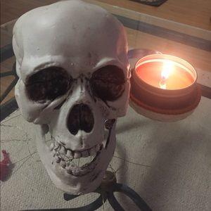 Plastic Halloween skull