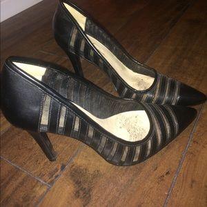 Jessica Simpson Black pointy toe heels 7.5