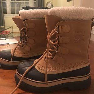 Sorel for J.Crew Caribou Waterproof Boots