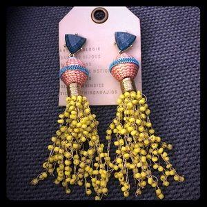 NWT anthro beaded earrings
