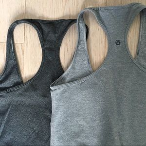 Lululemon cool racer back tanks - set of 2