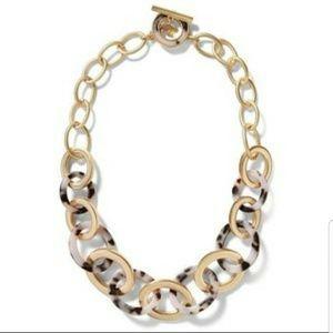 ISO Banana Republic Tortoise Chain Necklace