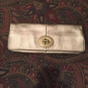 Gold Coach Clutch