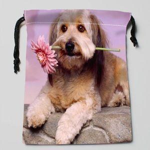 Doggie Drawstring Pouch