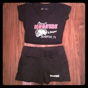 Original Black Hooters uniform!!