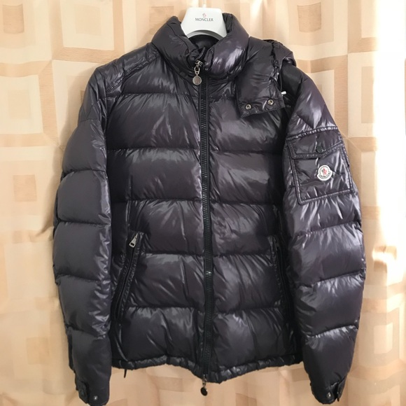 moncler maya jacket dark blue