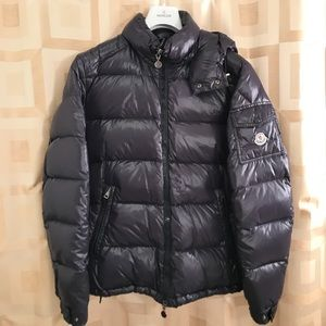 Moncler Jackets & Coats - Moncler Maya - navy blue