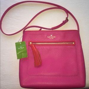 NWT pink Kate spade crossbody purse