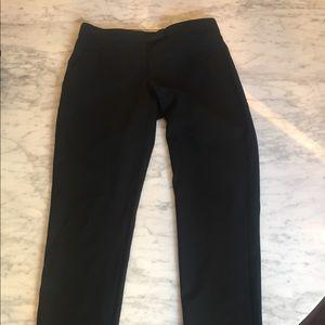 Theory black slim cut pants