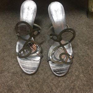 Silver Casadei shoes