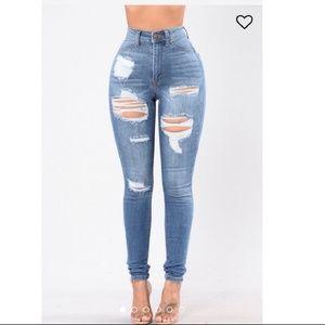 NWT Heavylifting Fashion Nova Jeans