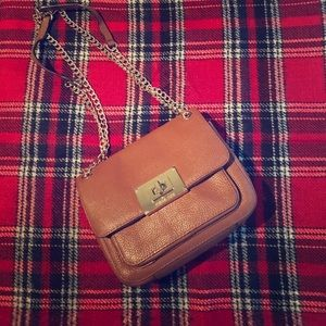 Michael Kors Crossbody Handbag W/ Gold Chain Strap